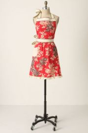 3D Toile Apron at Anthropologie