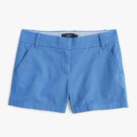4 chino short in Blue at J. Crew