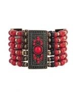 Similar red bead bracelet at Forever 21