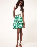 Similar green skirt at Asos