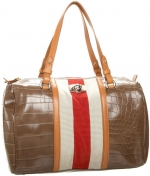 Striped overnight bag like Spencers at Amazon