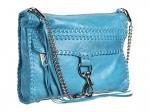 Spencer's blue fringe bag at Zappos