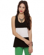 Similar black and white top at Lulus
