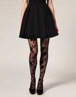 Patterned tights like Arias at Asos