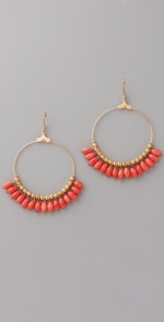 Hoop earrings like Hannas at Shopbop