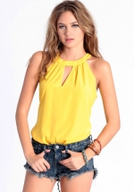 Yellow top like Hannas at Threadsence