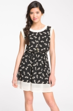 Printed dress by Lush at Nordstrom