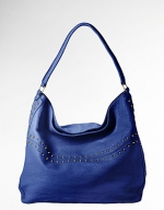 Blue studded bag like Arias at Lord & Taylor