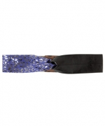 Aria's purple belt at Betsey Johnson