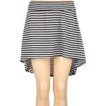 Dipped hem striped skirt at Tillys