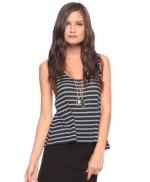 Grey striped top like Emilys at Forever 21