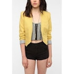 Yellow blazer like Janes at Urban Outfitters