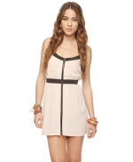 Cute contrast trim dress at Forever 21