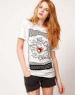 Black and white printed shirt like Emilys at Asos