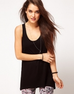 Black swing tank like Emilys at Asos