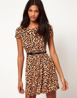 Leopard print dress like Arias at Asos