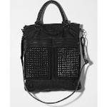Aria's black studded bag at Urban Outfitters