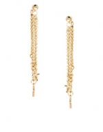 Gold chain drop earrings like Janes at Asos