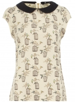 Printed top like Janes at Dorothy Perkins