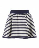 Jane's striped skirt at Ted Baker