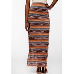 Patterned maxi skirt at Urban Outfitters