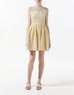 Hanna's yellow dress at Zara