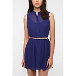 Navy shirtdress like Spencers at Urban Outfitters