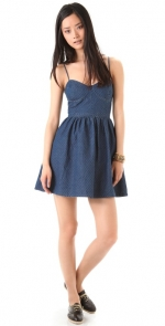 Emily's blue dress at Shopbop