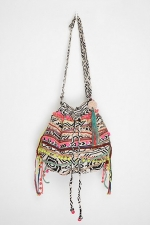 Aria's aztec printed bag at Urban Outfitters