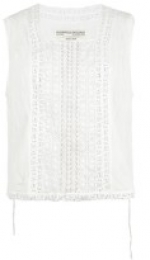 Spencer's white top at All Saints