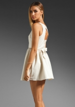 Similar white dress at Revolve