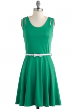 Green dress like Arias at Modcloth