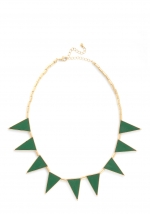 Similar green necklace at Modcloth