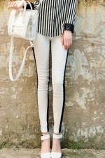 Black and white jeans like Arias at Romwe