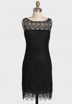 Similar black lace dress at Ruche