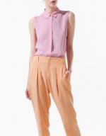 Hanna's pink top at Zara