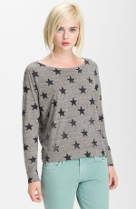 Paige's star sweater at Nordstrom