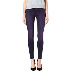 485 Coated Skinny Jeans by J Brand at Selfridges