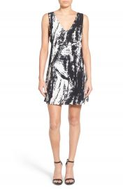 4SI3NNA Side Strap Shift Dress at Nordstrom
