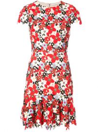 517 Alice Olivia Floral Embroidered Mini Dress - Buy Online - Fast Delivery  Price  Photo at Farfetch
