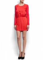 Red dress like Zoes at Mango