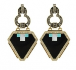 Serena's earrings at Sequin