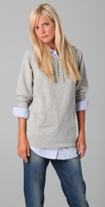 Grey hoodie that Lily wears on HIMYM at Shopbop