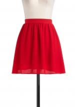Red skirt like Blairs at Modcloth