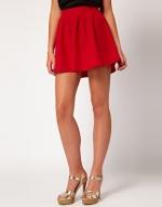 Red skirt like Blairs at Asos