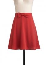 Coral skirt like Blairs at Modcloth