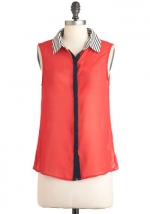 Red top like Zoes at Modcloth