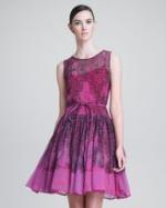 Blair's pink dress at Neiman Marcus