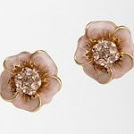 Flower earrings like Blairs at Urban Outfitters