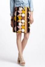 Emma's geo print skirt at Anthropologie